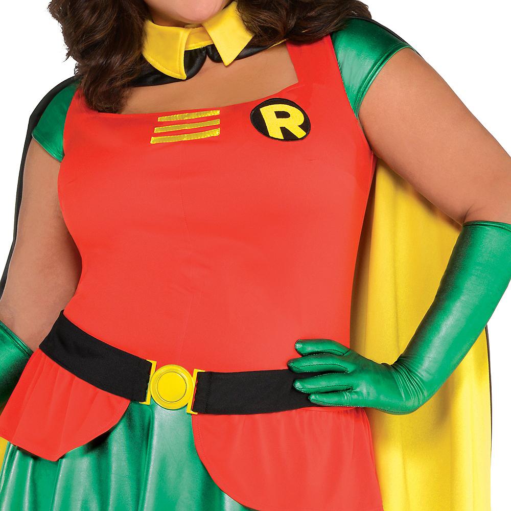 Adult Robin Costume Plus Size - Batman Image #3