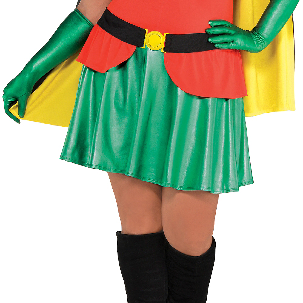 Adult Robin Costume Plus Size - Batman Image #4