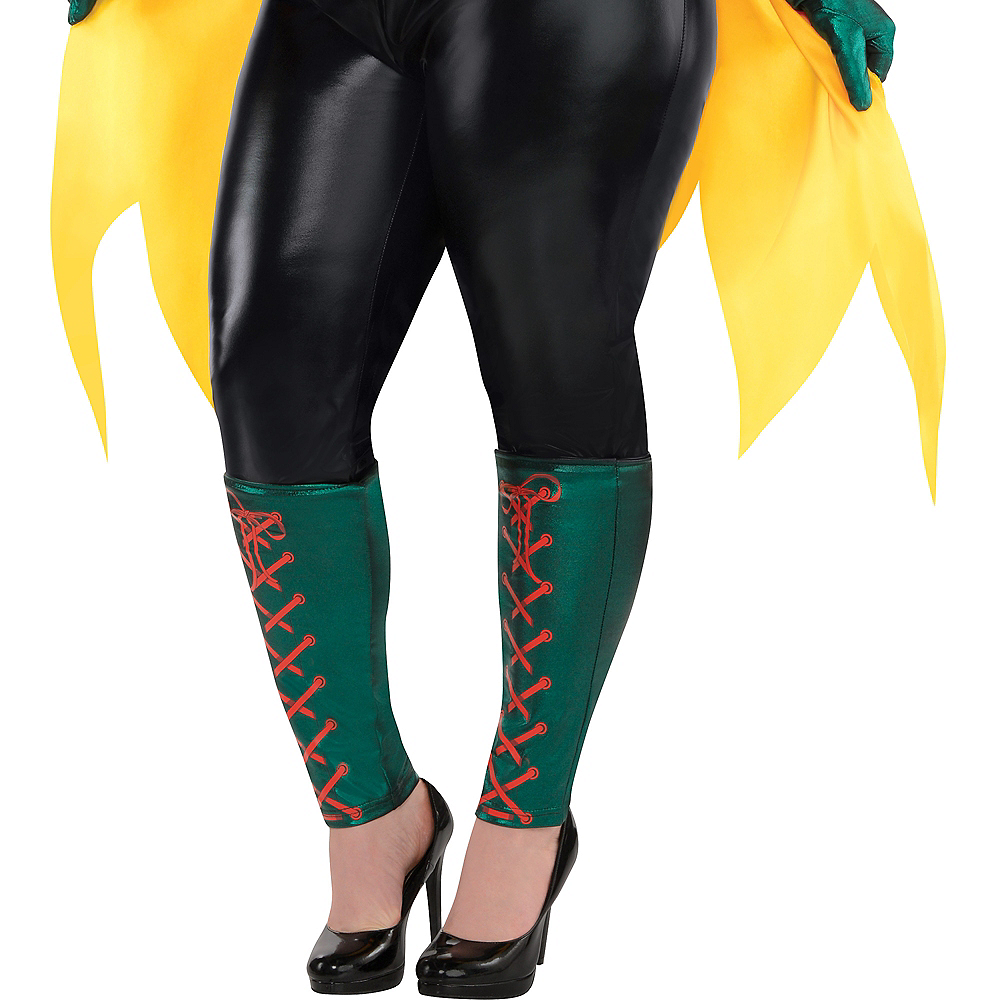 Adult Robin Jumpsuit Costume Plus Size - DC Comics New 52 Image #4
