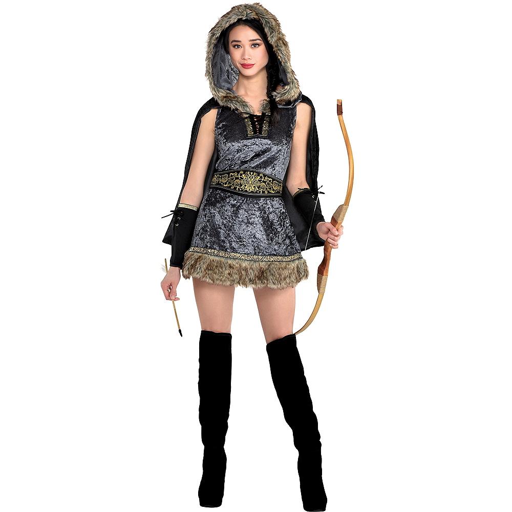 Adult Skilled Archer Costume Image #1