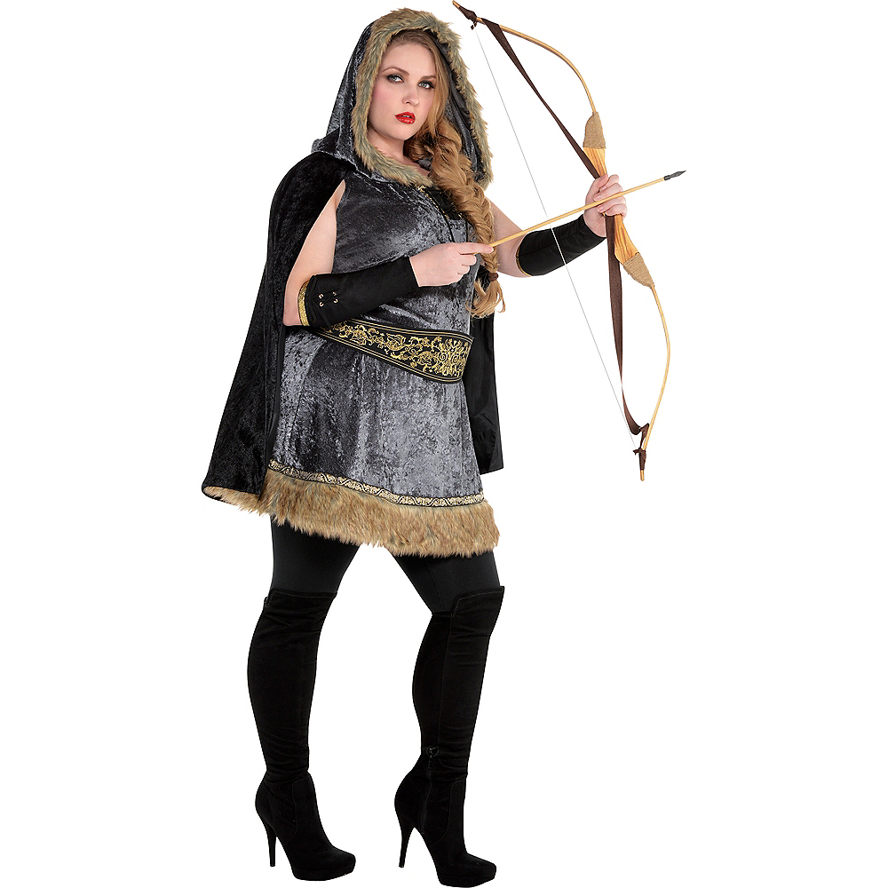 Nav Item for Adult Skilled Archer Costume Plus Size Image #1