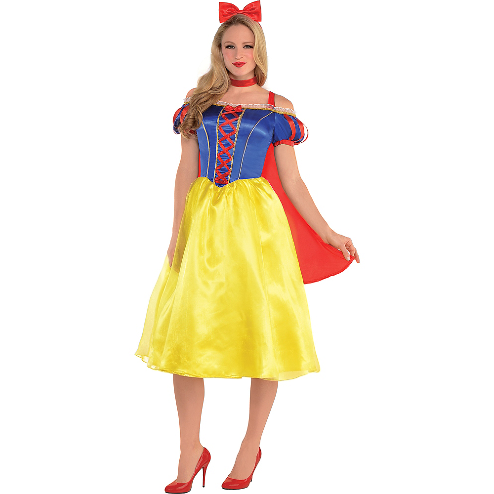 Nav Item for Adult Snow White Dress Costume Image #1