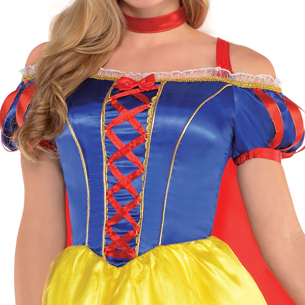 Adult Snow White Dress Costume Image #3