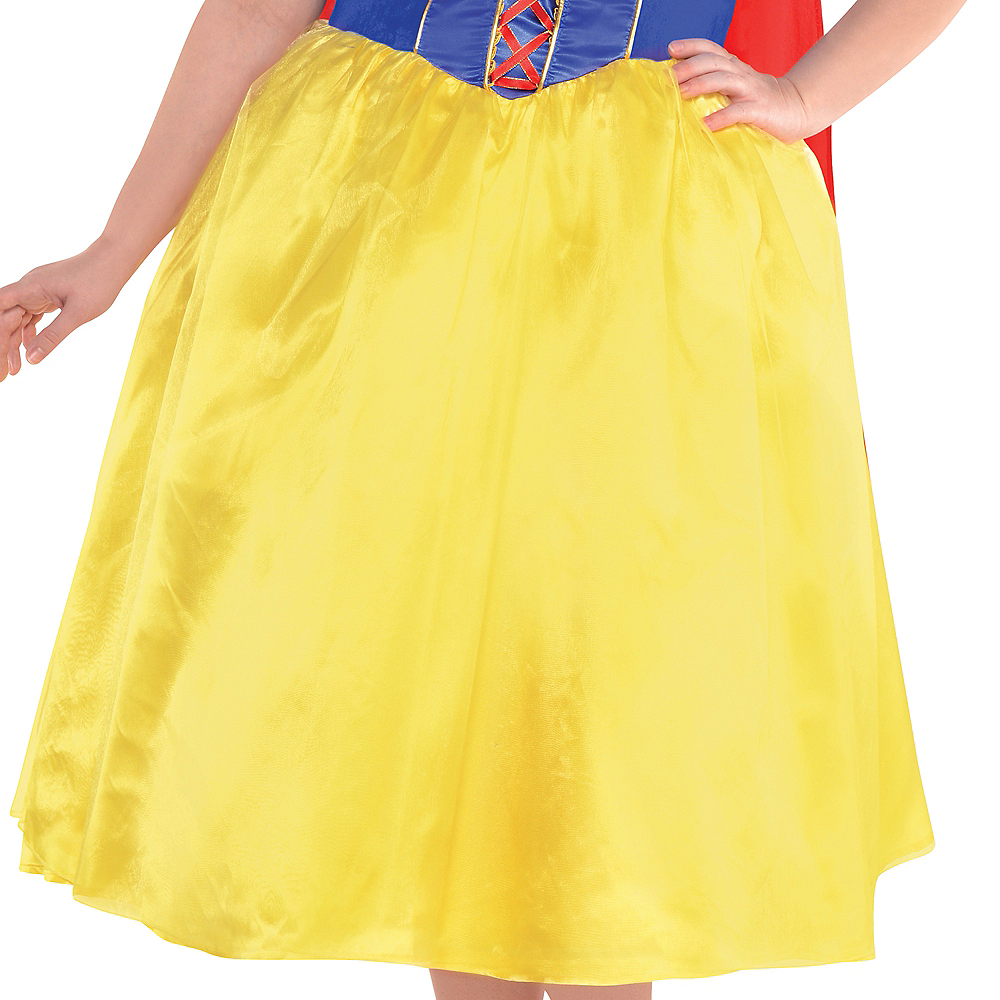 Adult Snow White Dress Costume Plus Size Image #4