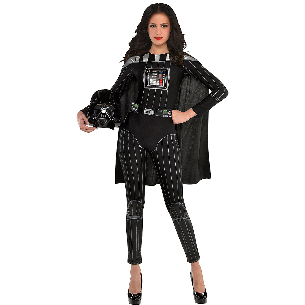 Adult Darth Vader Jumpsuit Costume - Star Wars Image #1