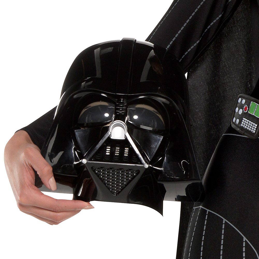 Nav Item for Adult Darth Vader Jumpsuit Costume - Star Wars Image #2