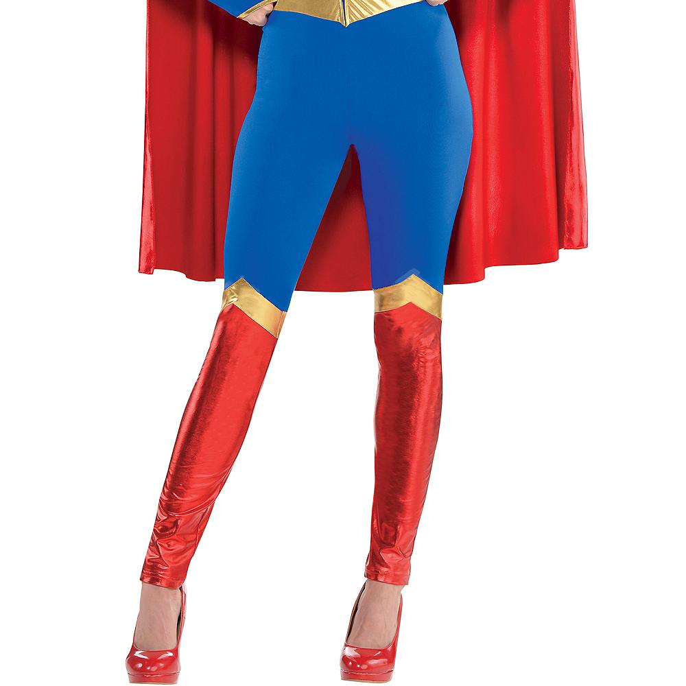 Adult Supergirl Jumpsuit Costume - Superman Image #3