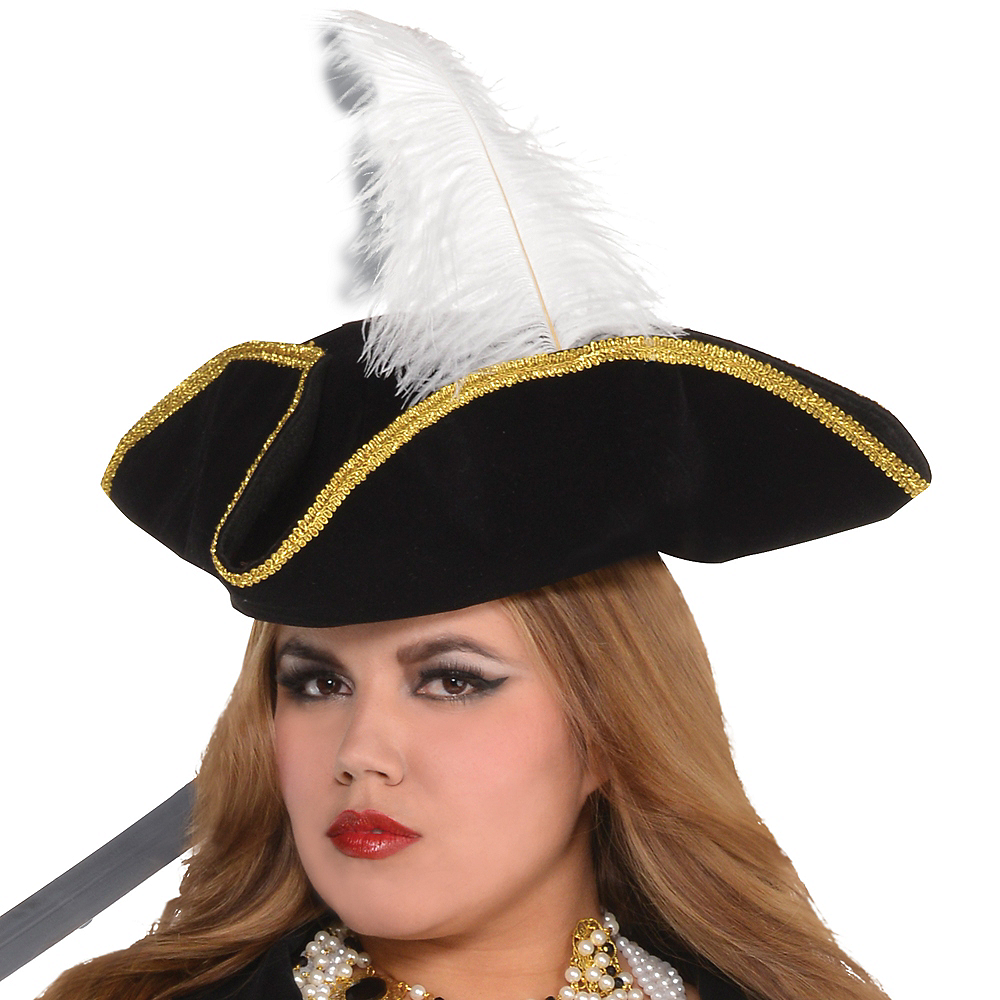 Adult Treasure Vixen Pirate Costume Plus Size Image #2