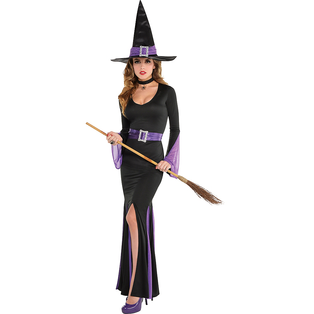 Adult Witchy Witch Costume Image #1