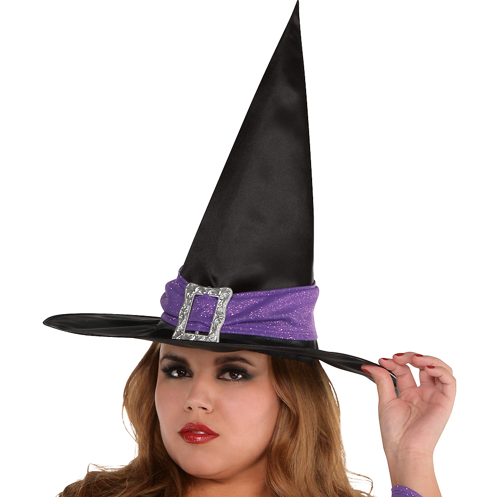 Adult Witchy Witch Costume Plus Size Image #2