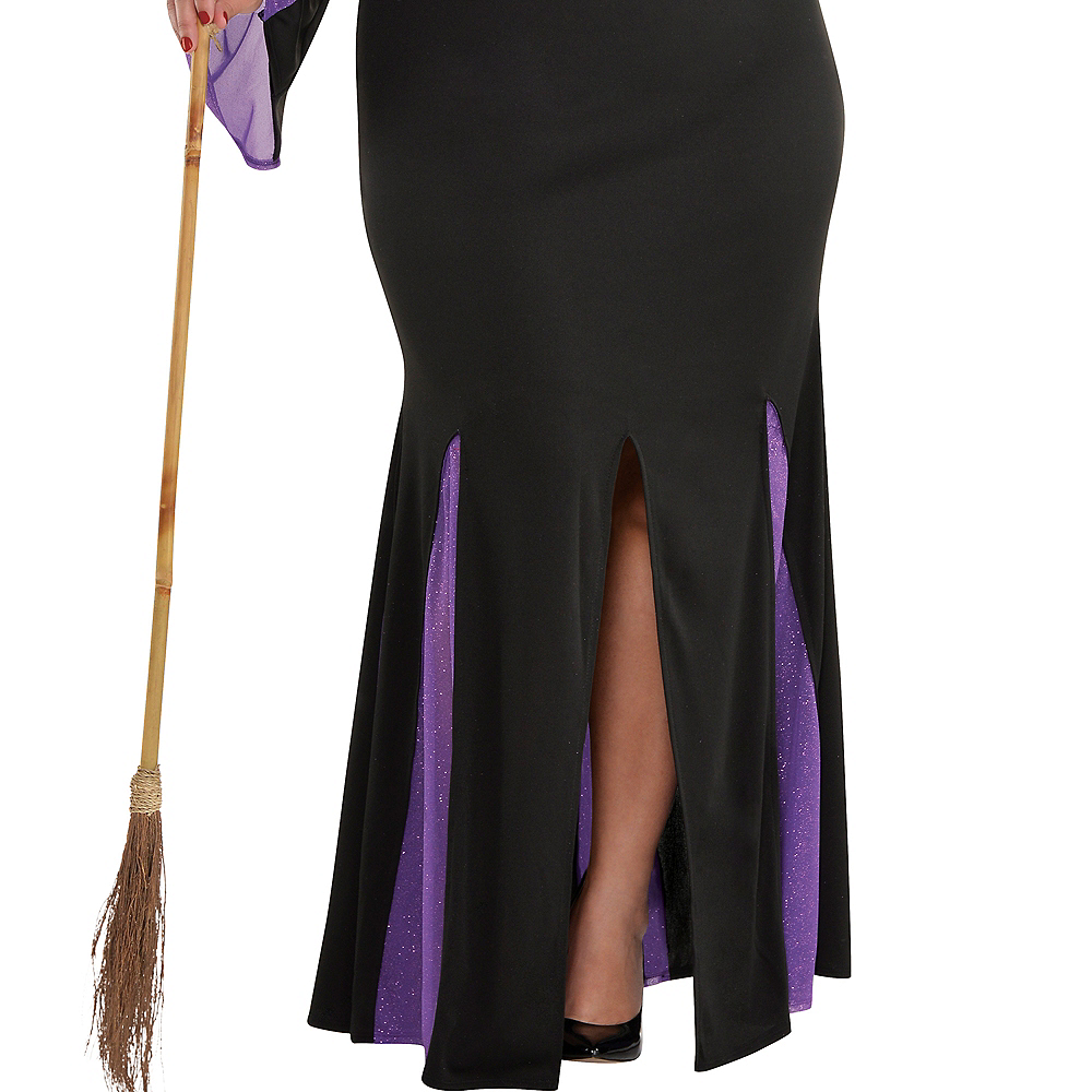 Adult Witchy Witch Costume Plus Size Image #4