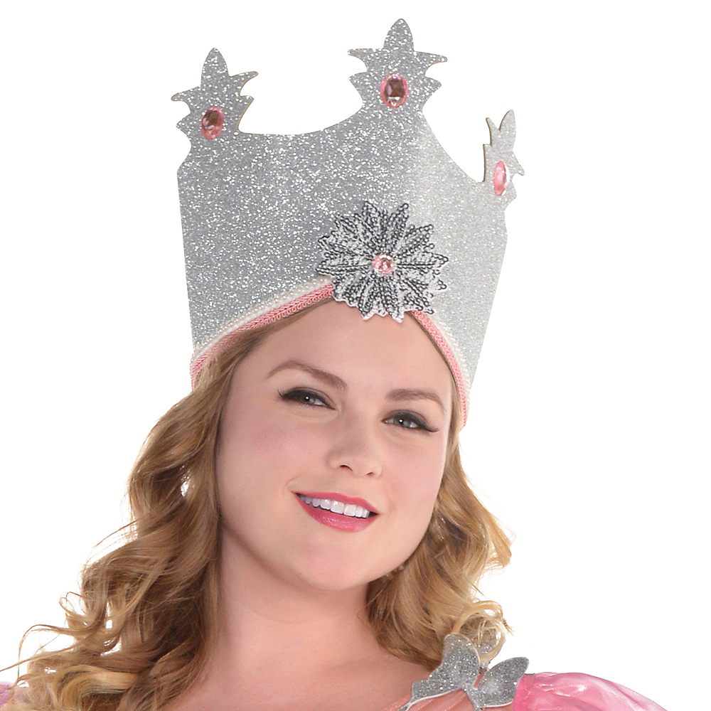 Nav Item for Womens Glinda Costume Plus Size - Wizard of Oz Image #2