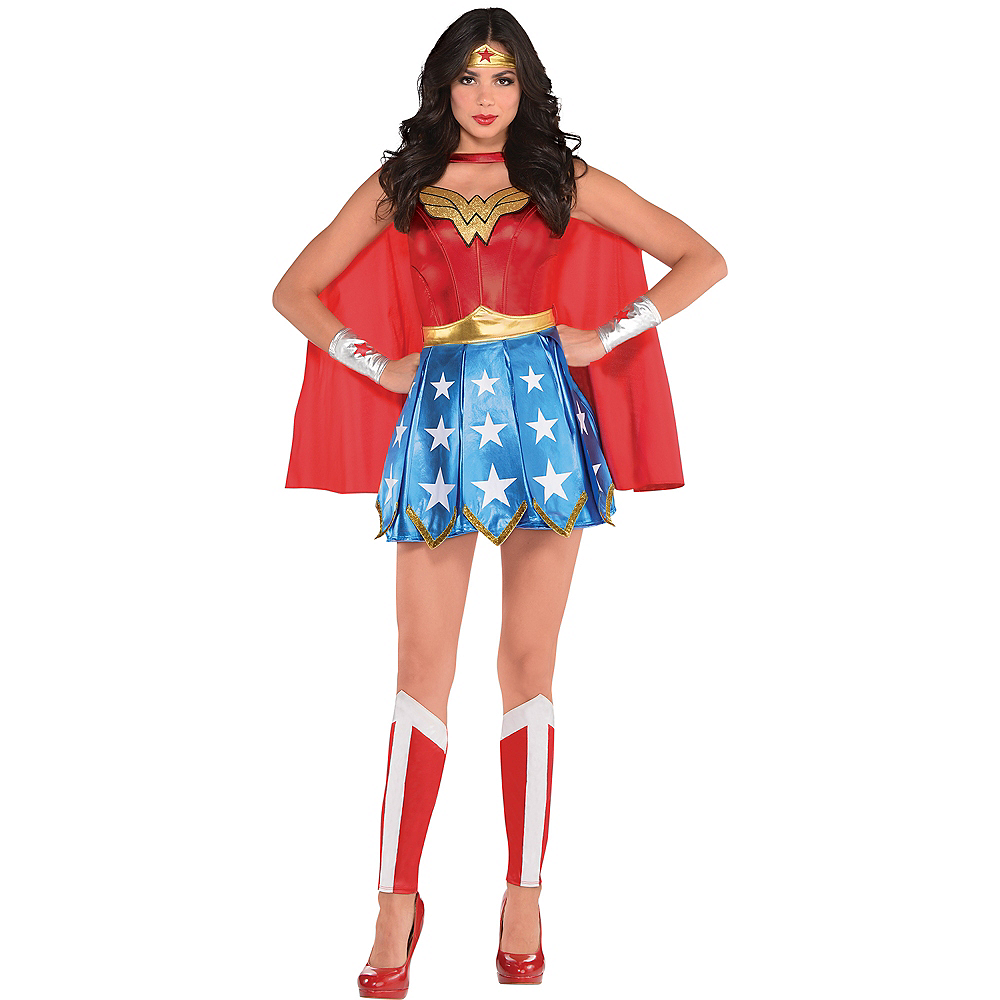 Adult Wonder Woman Costume Image #1
