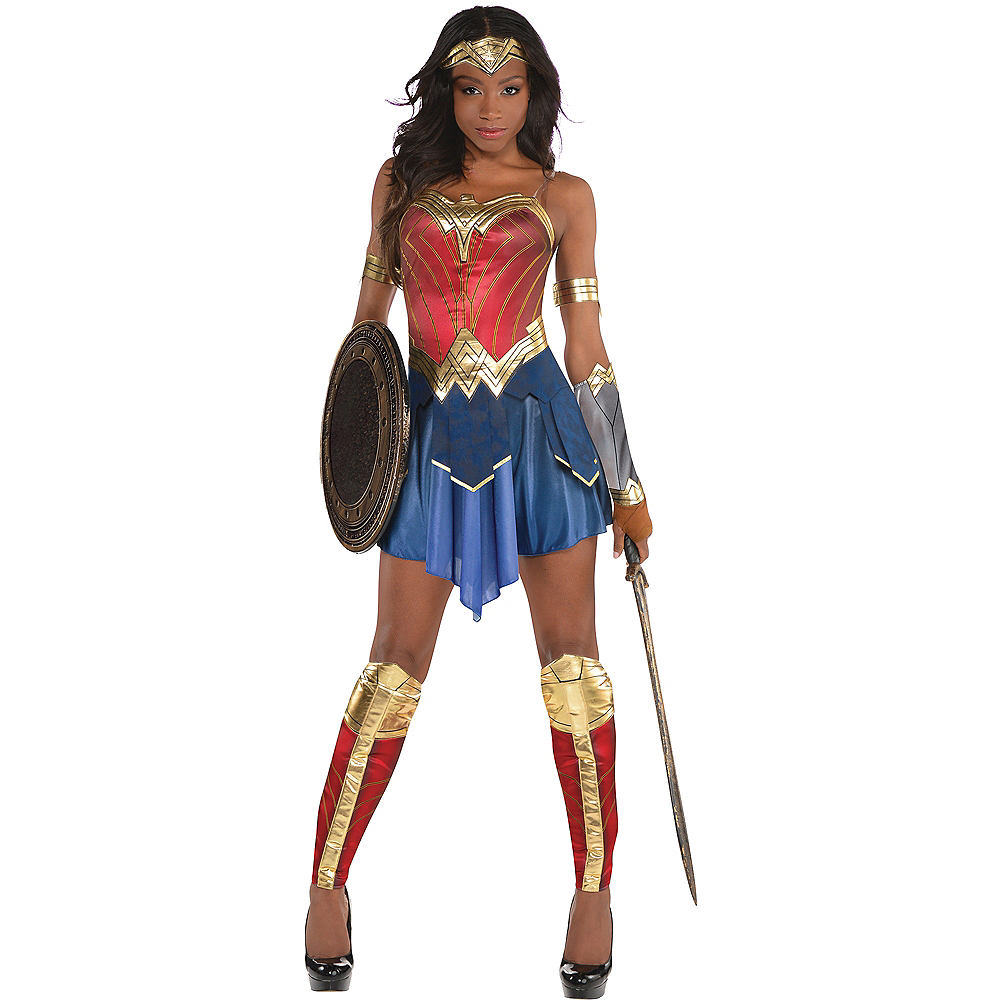 dda8bbd0e0 Nav Item for Womens Wonder Woman Costume - Wonder Woman Movie Image #1 ...