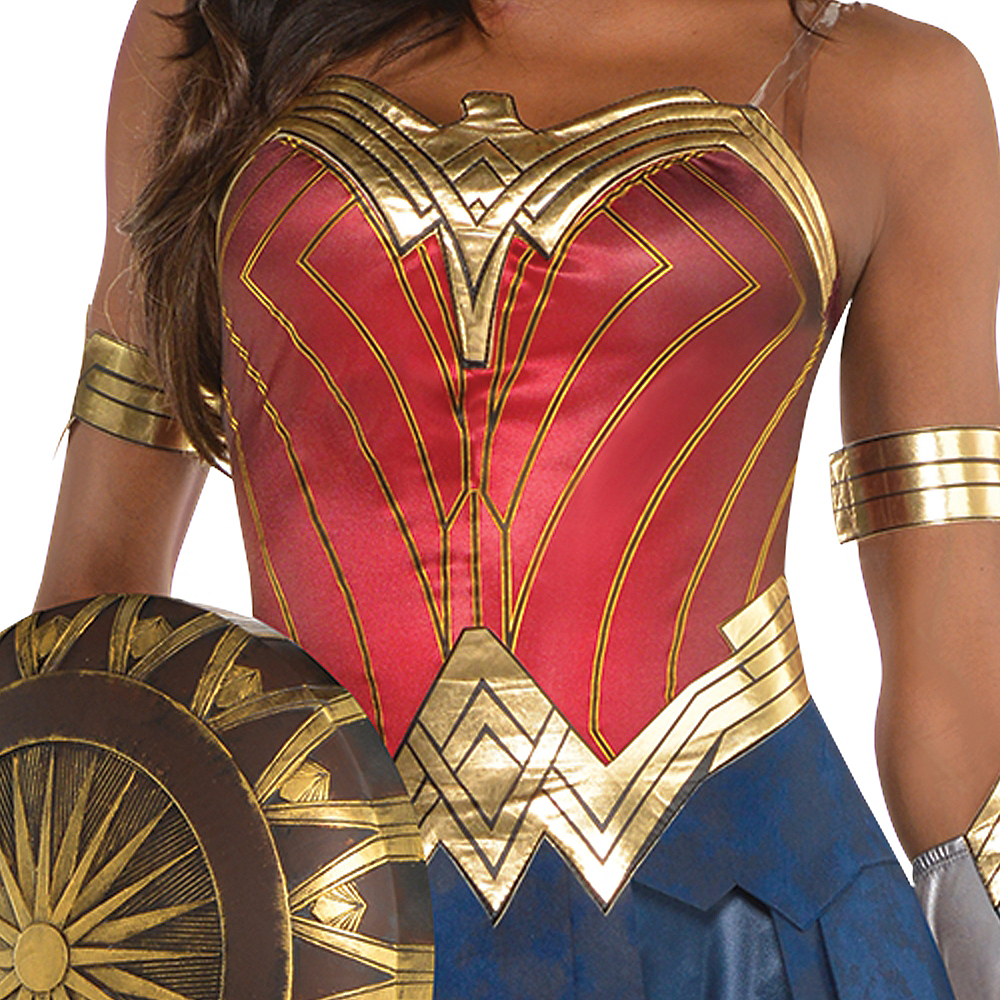 Nav Item for Womens Wonder Woman Costume - Wonder Woman Movie Image #3