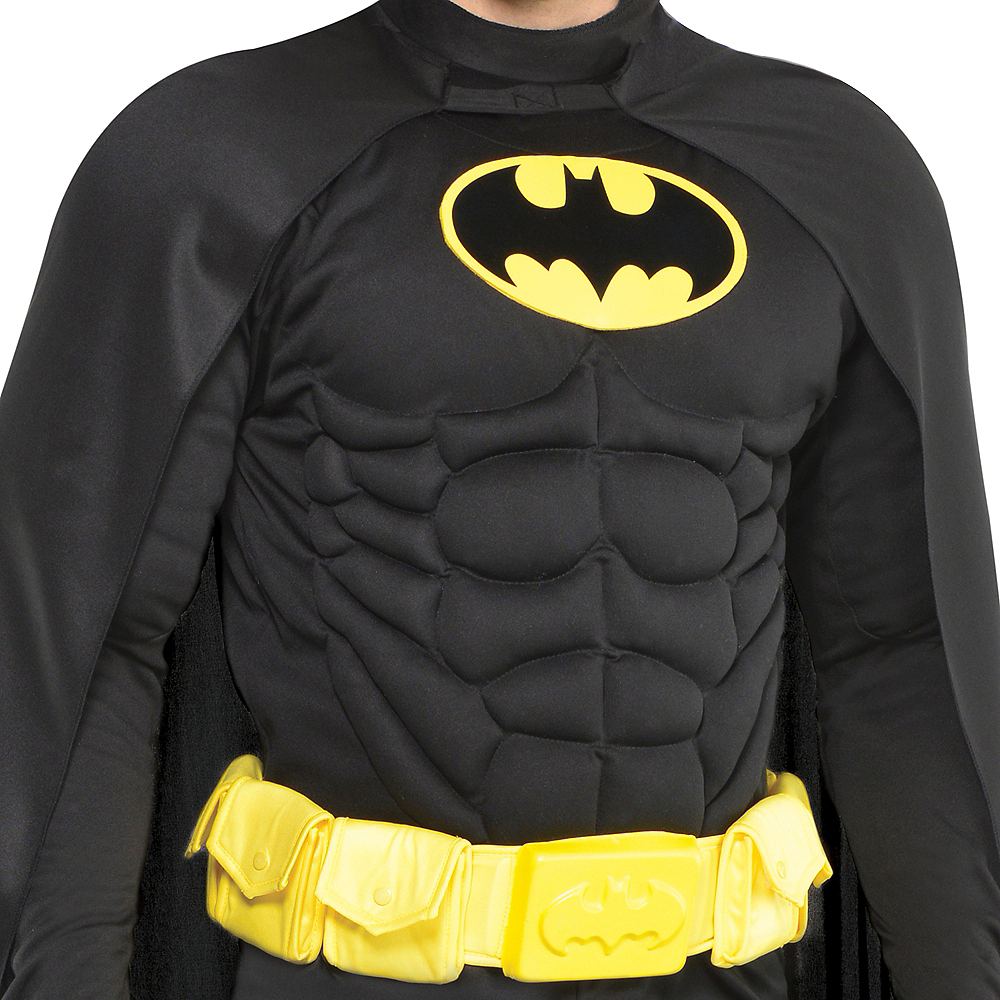 Adult Batman Muscle Costume Image #3