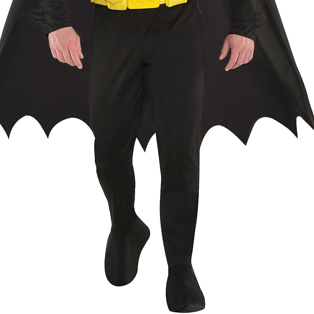 Adult Batman Muscle Costume Plus Size Image #4