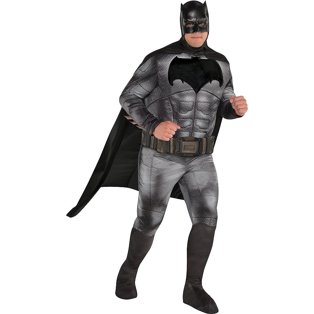 Adult Batman Muscle Costume Plus Size - Justice League Part 1 Image #1