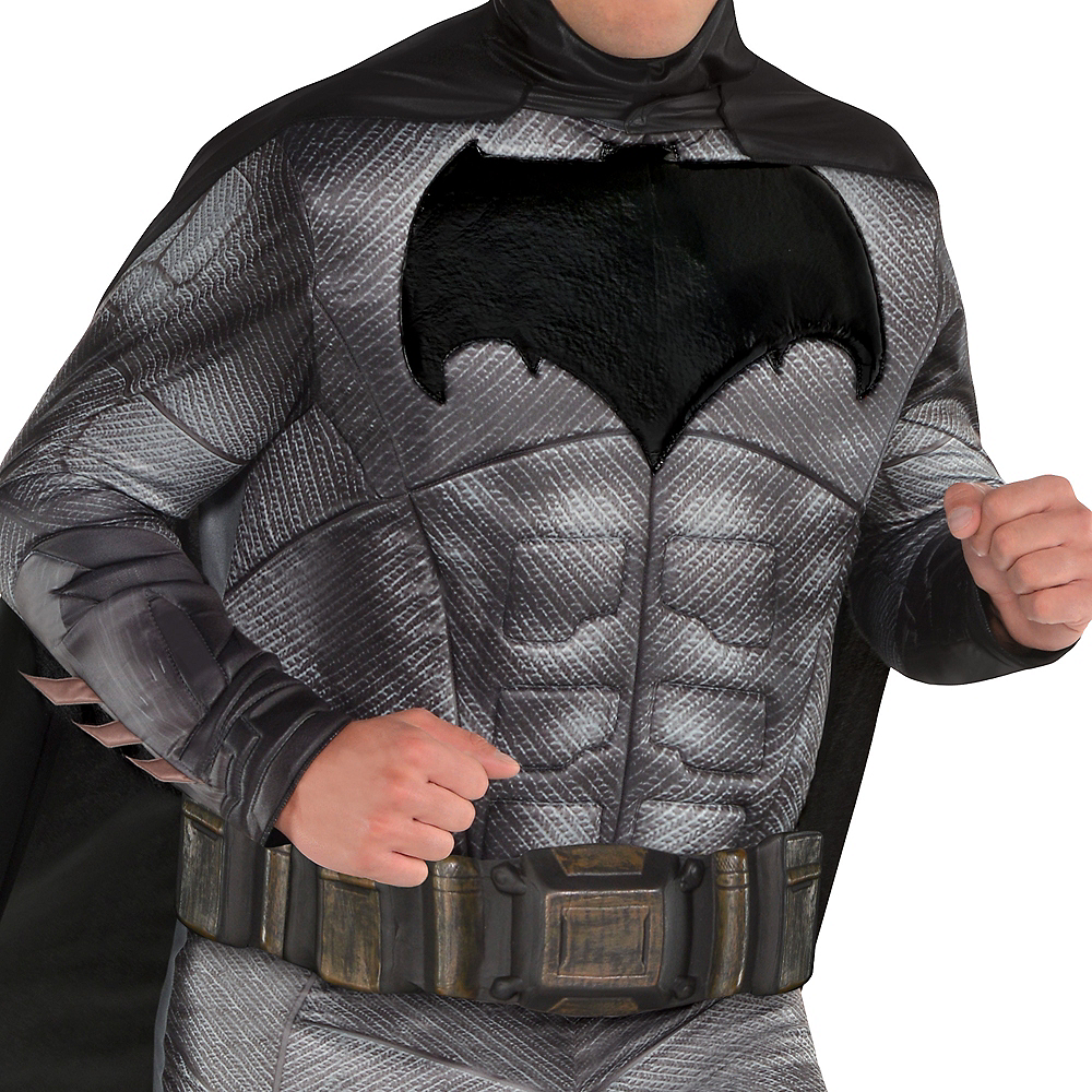 Adult Batman Muscle Costume Plus Size - Justice League Part 1 Image #3