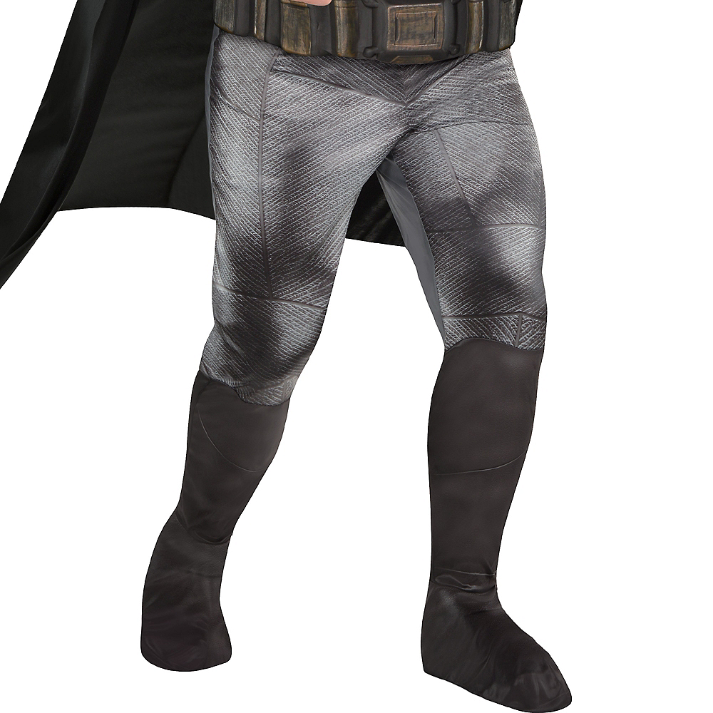 Adult Batman Muscle Costume Plus Size - Justice League Part 1 Image #4
