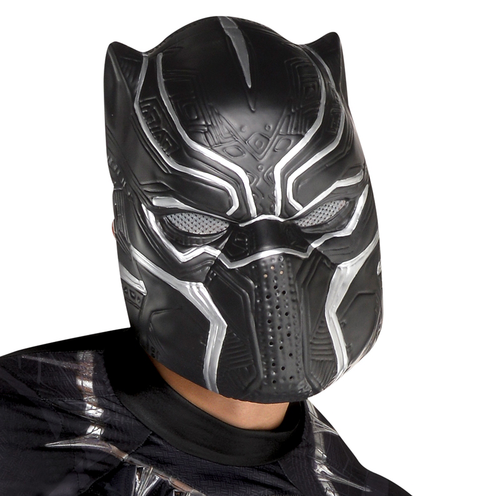Adult Black Panther Muscle Costume - Black Panther Image #2