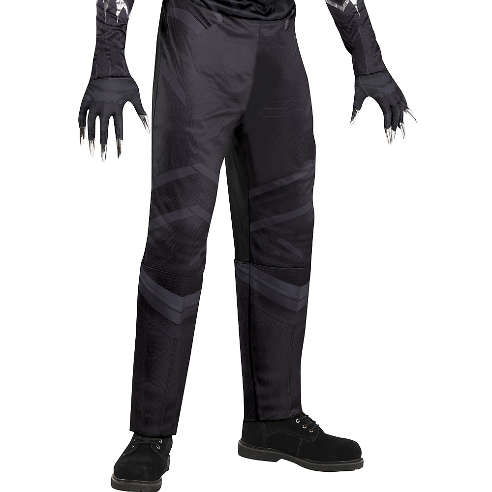 Adult Black Panther Muscle Costume - Black Panther Image #4