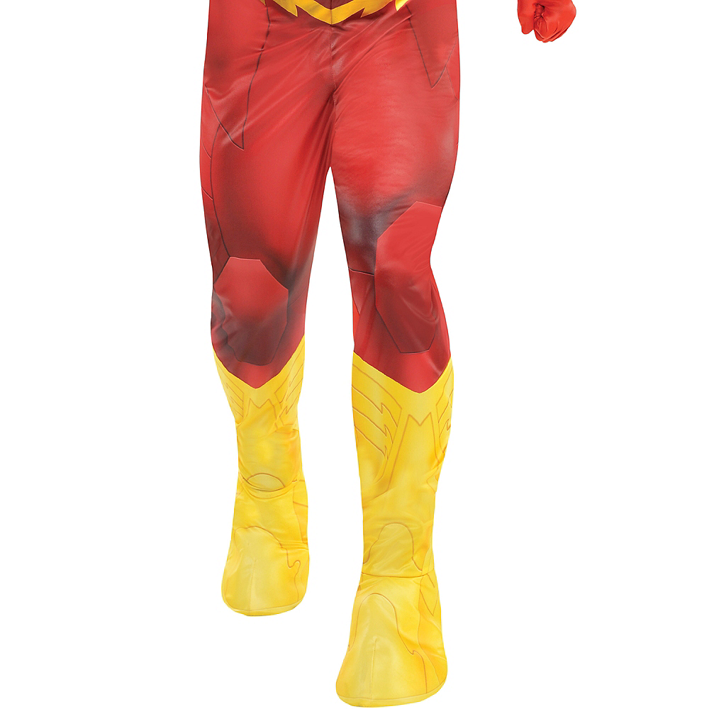 Adult The Flash Muscle Costume - DC Comics New 52 Image #4