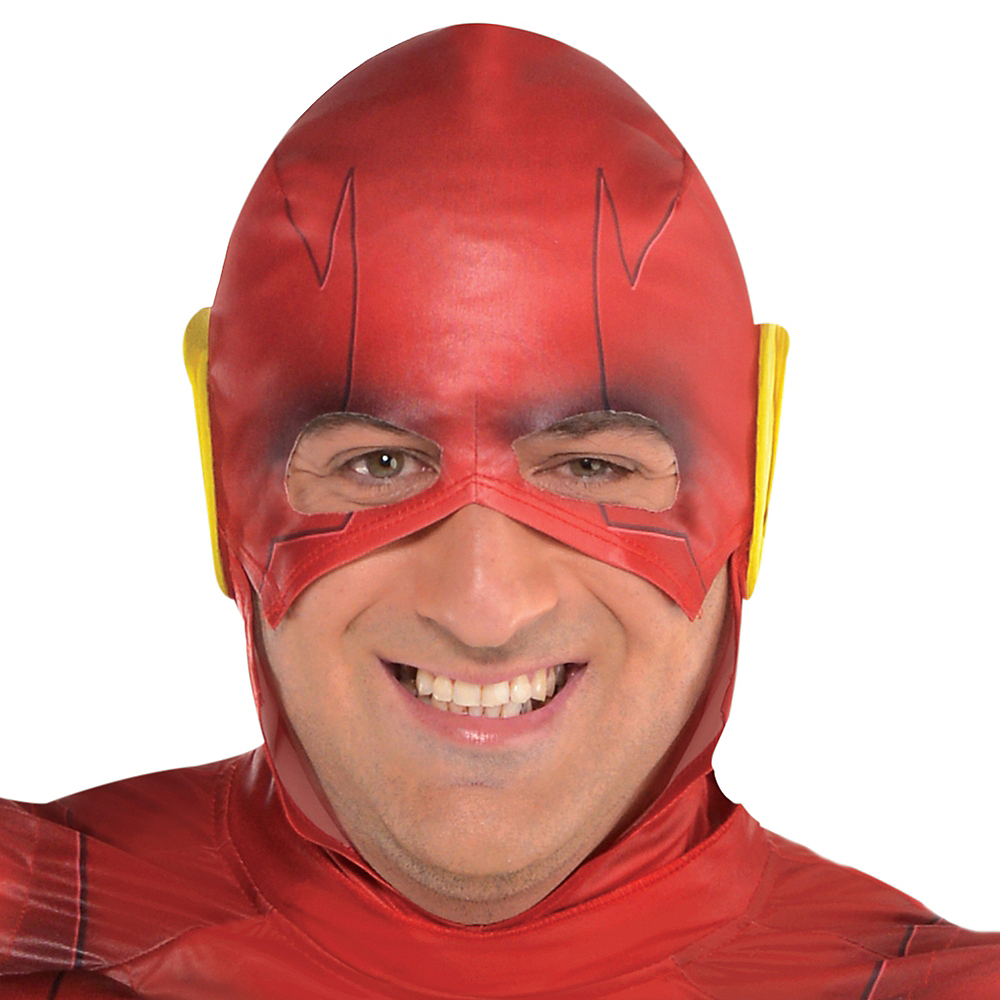 Adult The Flash Muscle Costume Plus Size - DC Comics New 52 Image #2