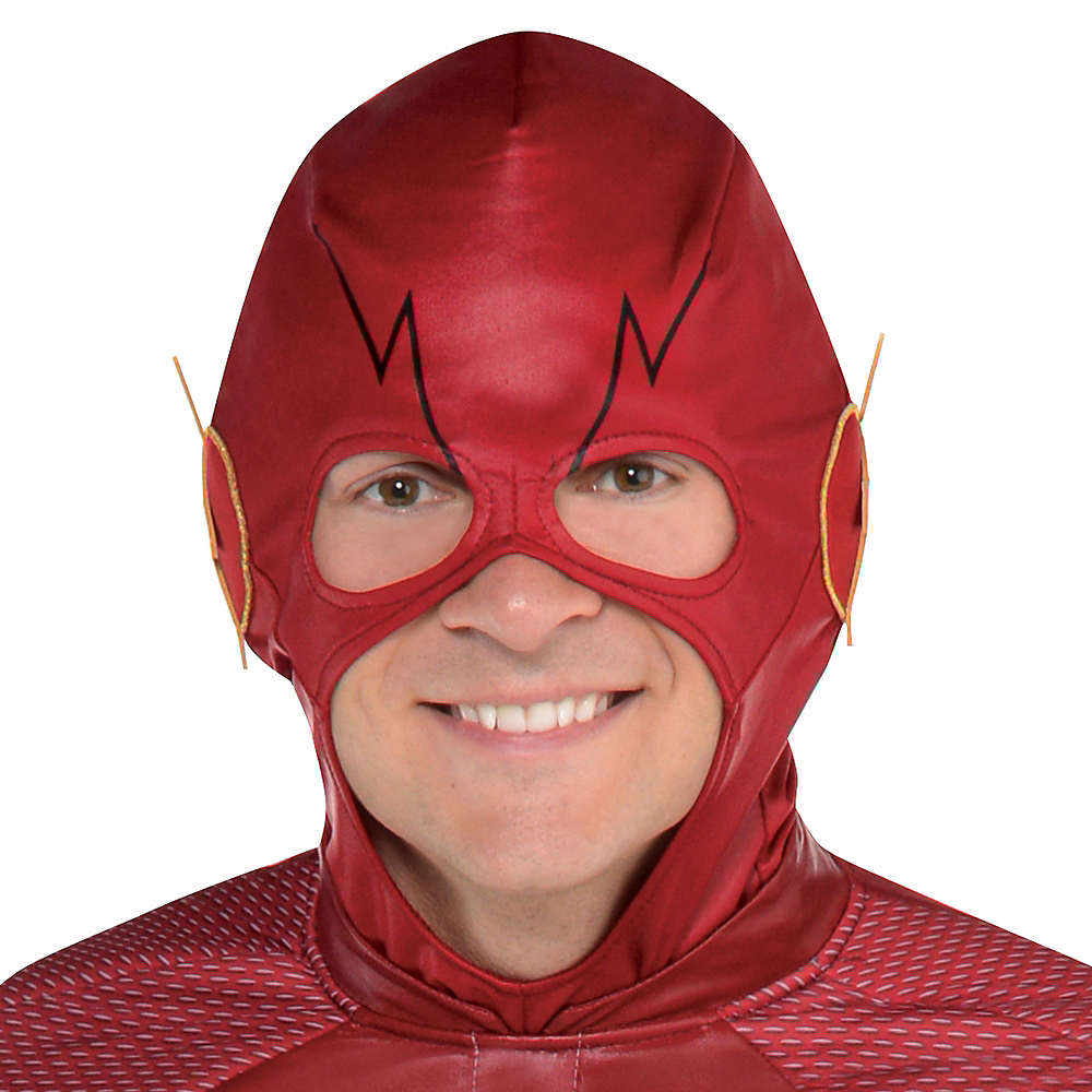 Adult Light-Up The Flash Muscle Costume - The Flash TV Show Image #2