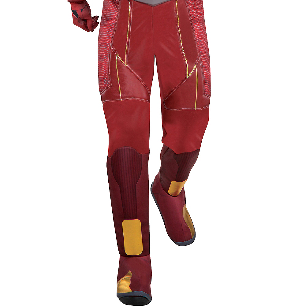 Adult Light-Up The Flash Muscle Costume - The Flash TV Show Image #4