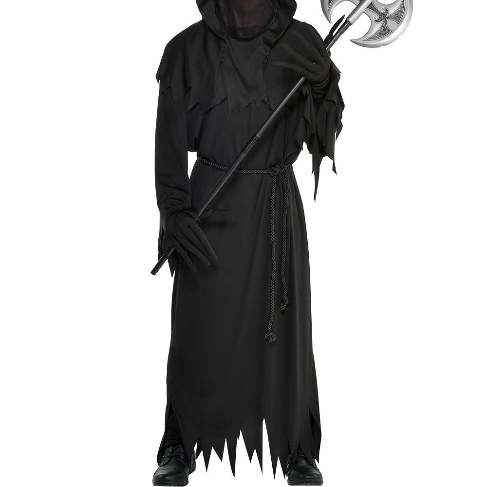 Mens Light-Up Glaring Grim Reaper Costume Image #3