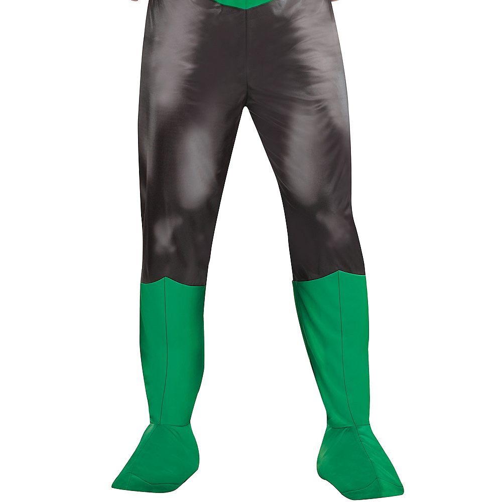 Adult Green Lantern Muscle Costume Plus Size - DC Comics New 52 Image #4