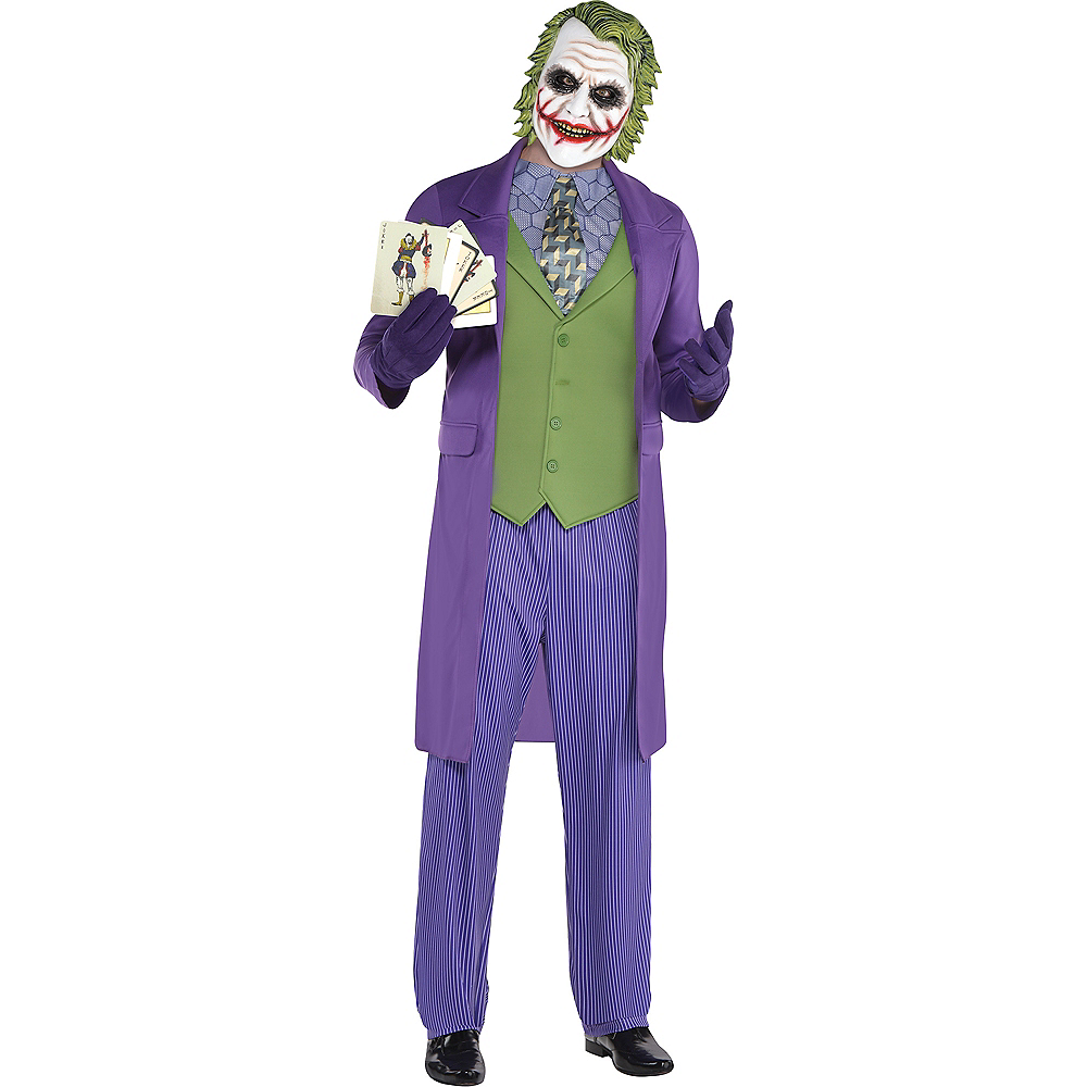 adult joker costume the dark knight