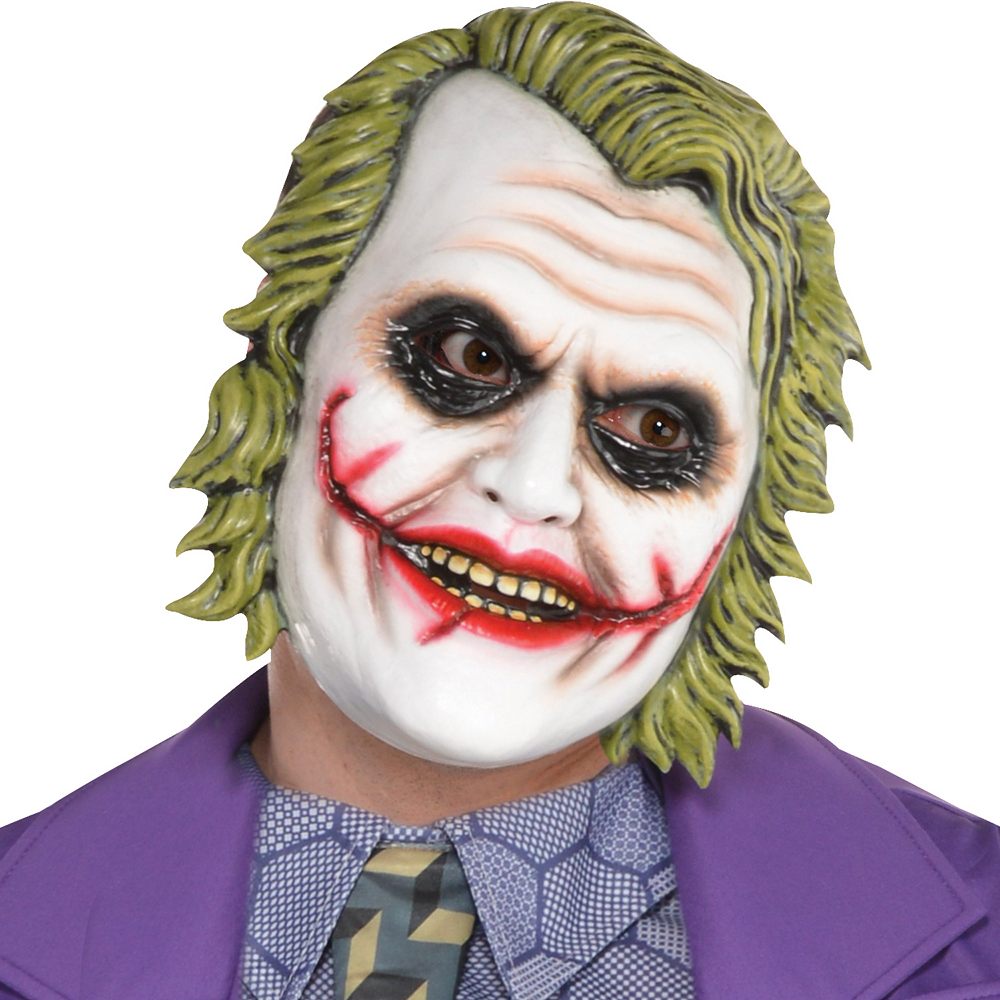 adult joker costume plus size the dark knight image 2
