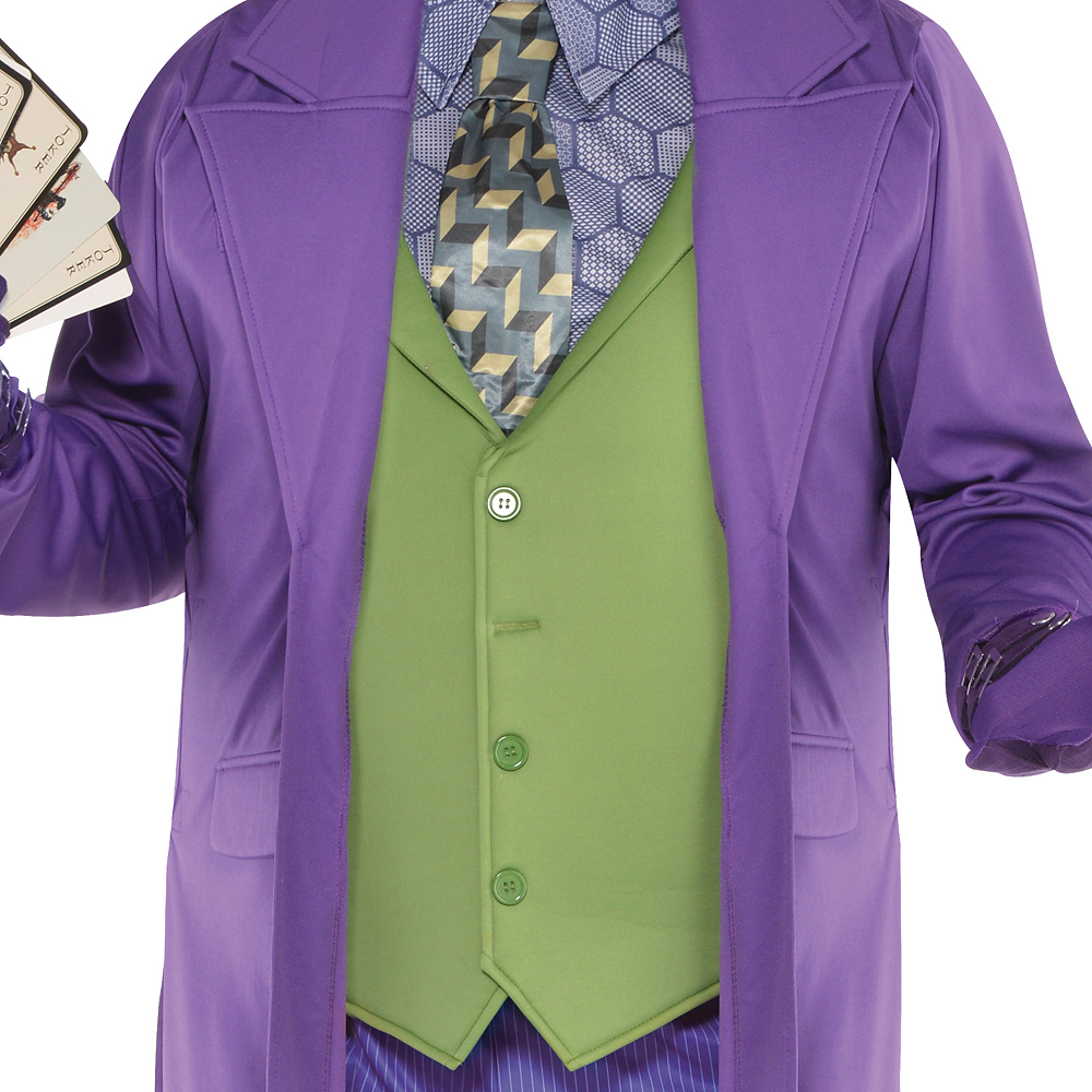 Adult Joker Costume Plus Size - The Dark Knight Image #3