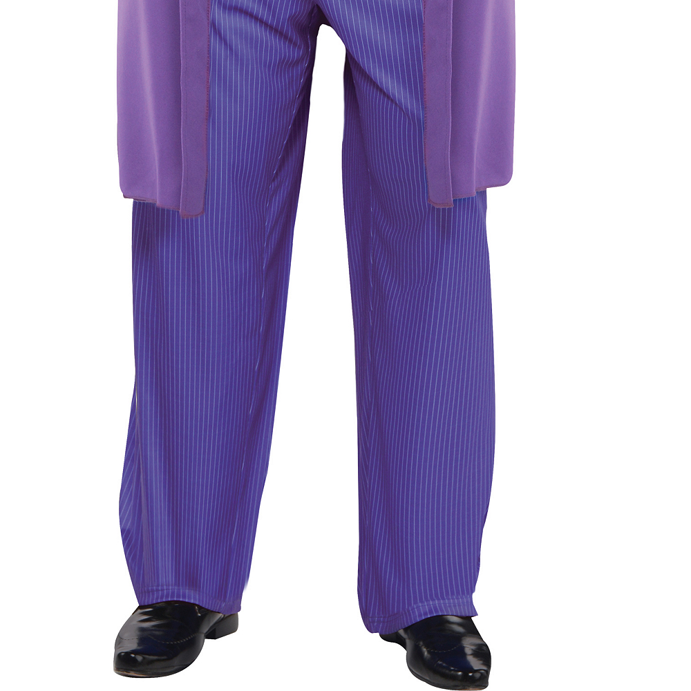 Adult Joker Costume Plus Size - The Dark Knight Image #4