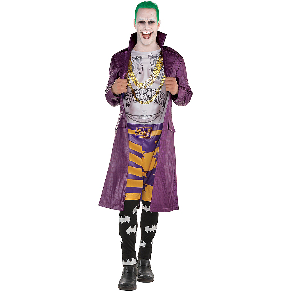 Adult Psycho Joker Costume - Suicide Squad Image #1