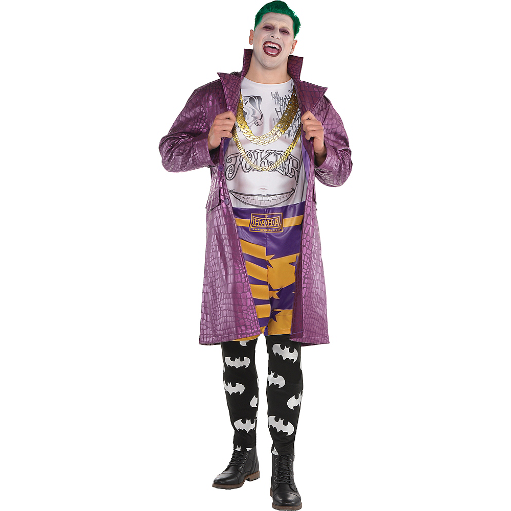 Nav Item for Adult Psycho Joker Costume Plus Size - Suicide Squad Image #1