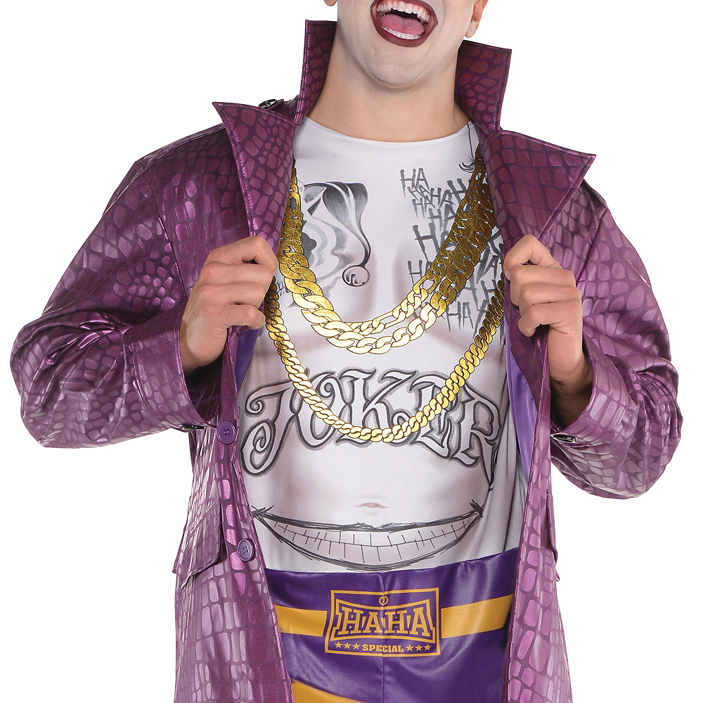 Nav Item for Adult Psycho Joker Costume Plus Size - Suicide Squad Image #2
