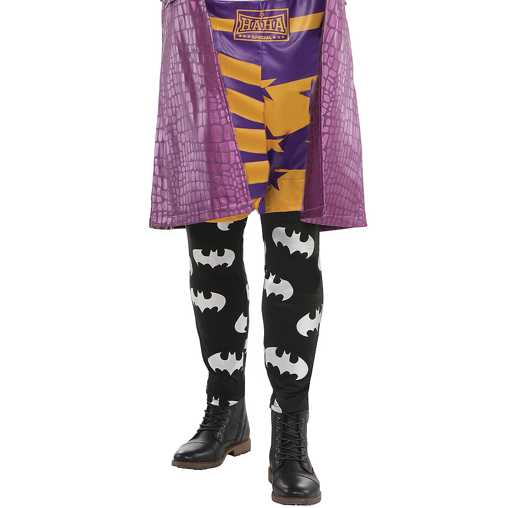 Nav Item for Adult Psycho Joker Costume Plus Size - Suicide Squad Image #3