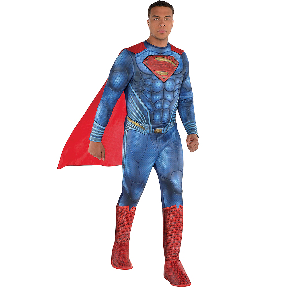 Adult Superman Muscle Costume - Justice League Part 1 Image #1