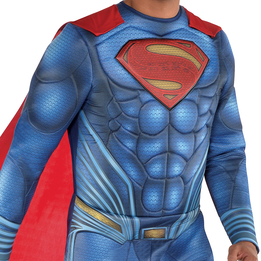 Adult Superman Muscle Costume - Justice League Part 1 Image #2