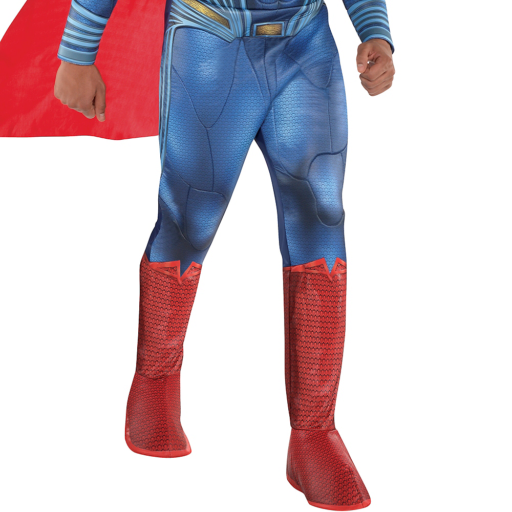 Adult Superman Muscle Costume - Justice League Part 1 Image #3