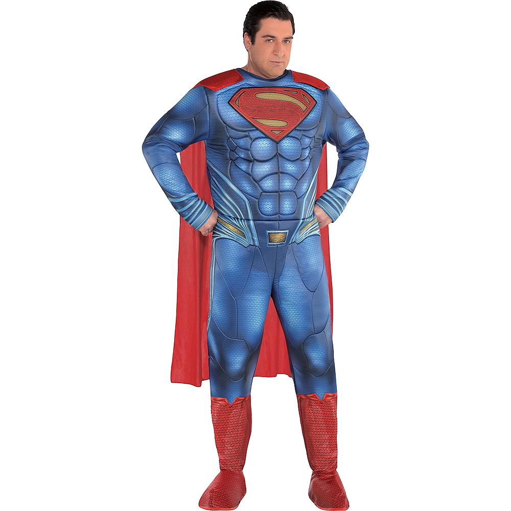 Adult Superman Muscle Costume Plus Size - Justice League Part 1 Image #1