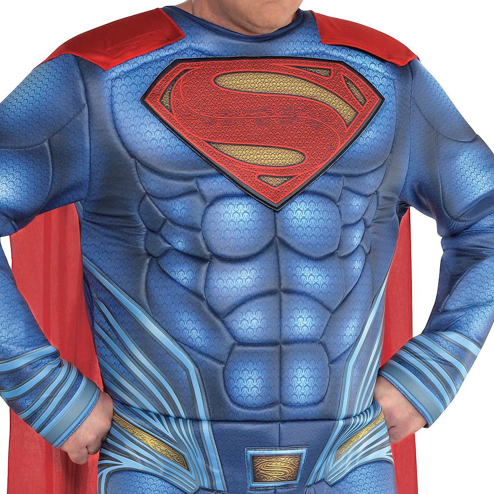 Adult Superman Muscle Costume Plus Size - Justice League Part 1 Image #2