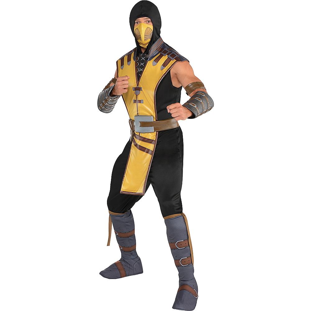 Adult Scorpion Costume - Mortal Kombat X Image #1