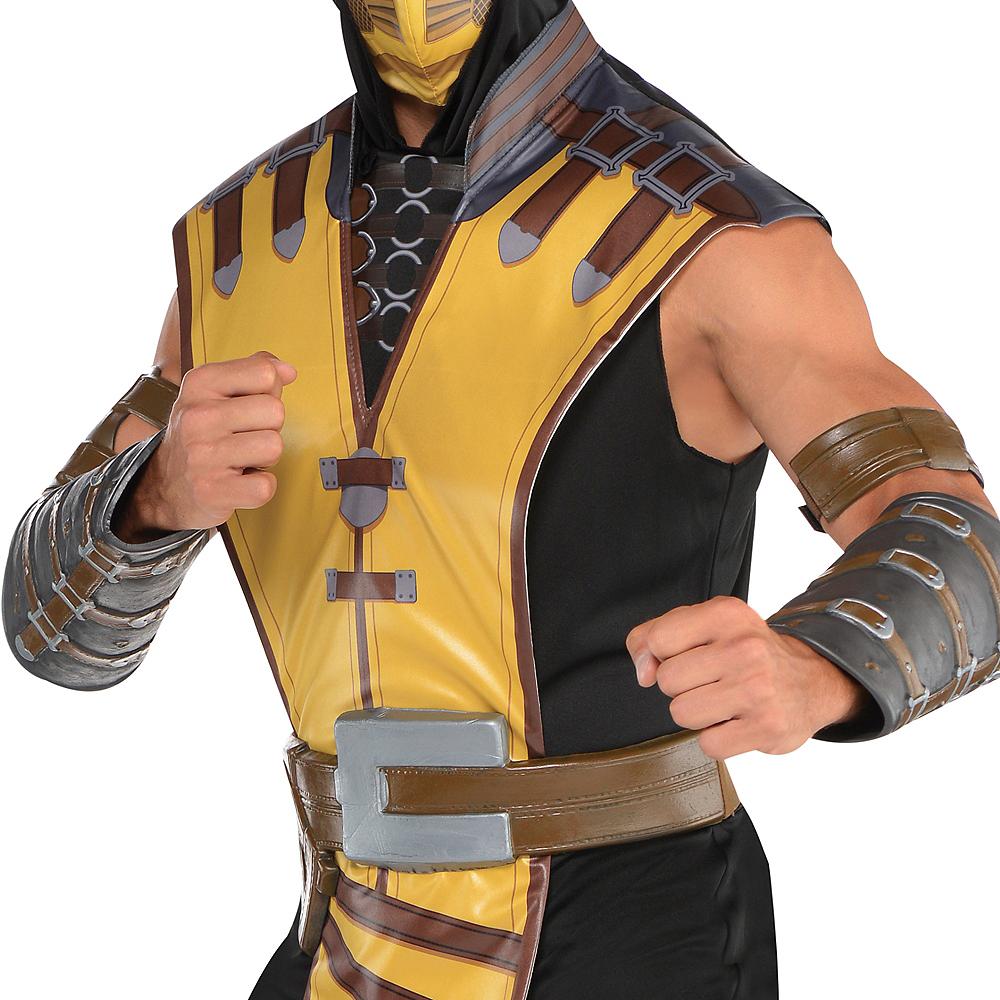 Adult Scorpion Costume - Mortal Kombat X Image #3