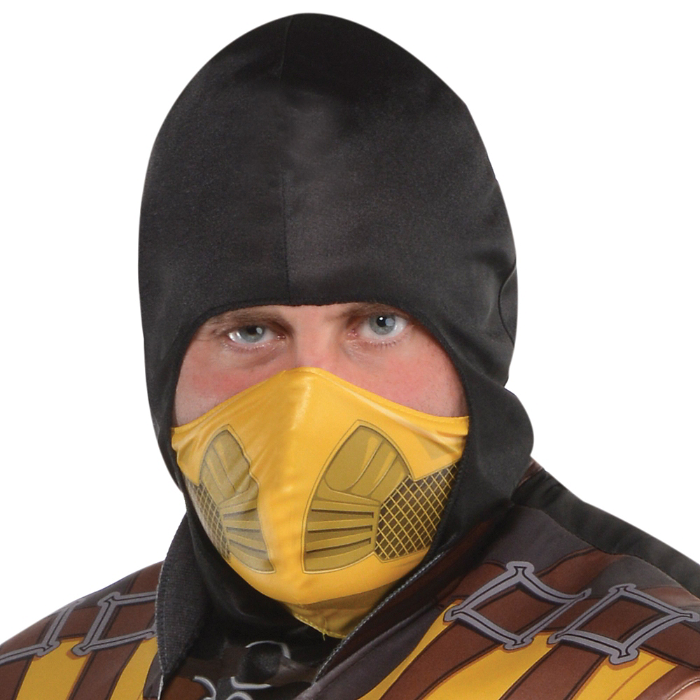 Adult Scorpion Costume Plus Size Mortal Kombat X Party City Canada