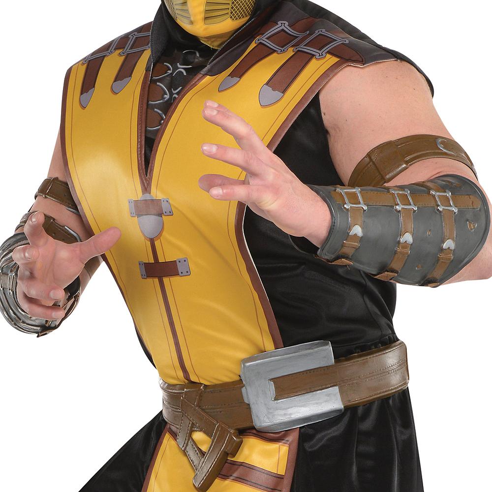 Adult Scorpion Costume Plus Size - Mortal Kombat X Image #3