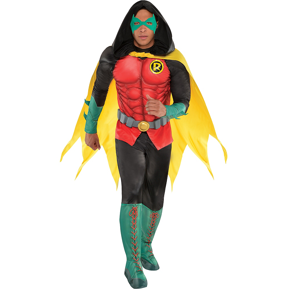 Adult Robin Muscle Costume - DC Comics New 52 Image #1